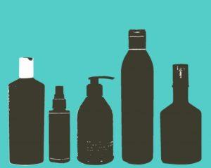 Bottles in shadow